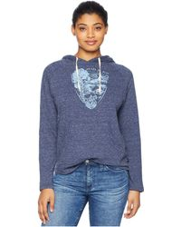 United By Blue - Parks Pennant Hoodie (navy) Women's Sweatshirt - Lyst