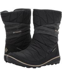 Columbia Heavenly Slip Ii Omni-heat Snow Boot - Black