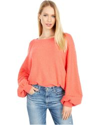 Free People Found My Friend Pullover - Orange