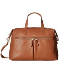 Knomo - Mayfair Luxe Audley Slim Brief Tote - Lyst