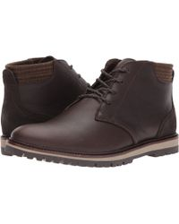 0084fc169c9b03 Lacoste - Montbard Chukka 417 1 Cam (dark Brown) Men s Shoes - Lyst