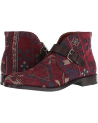 Etro - Carpet Print Ankle Boot (brown) Men's Boots - Lyst