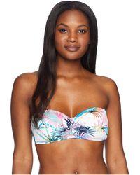 Tommy Bahama - Fronds Ferdi Twist Bandeau Bra (white) Women's Swimwear - Lyst