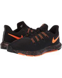 42fb24f89a2f Nike - Quest (black total Orange) Men s Running Shoes - Lyst