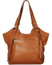The Sak Sierra Leather Shopper - Brown