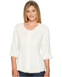"Scully - Honey Creek ""cherie"" Blouse - Lyst"
