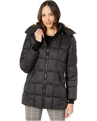 Marc New York - Box Quilted Shine Puffer Jacket - Lyst