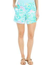 Lilly Pulitzer Callahan Knit Shorts - Blue
