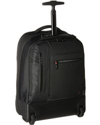 Hedgren Excitor Backpack On Wheels 17 With Laptop Sleeve - Black