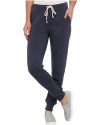 Alternative Apparel Eco Fleece Jogger Pant - Blue
