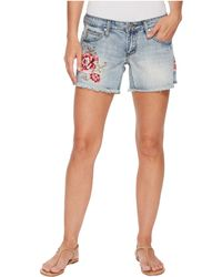 Stetson | Jean Shorts With Embroidery | Lyst