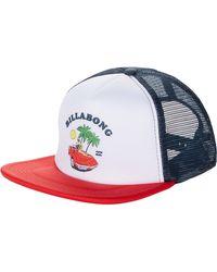 Billabong Feeble Trucker Caps - Red