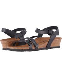 Birkenstock - Lana (cognac Leather) Women's Sling Back Shoes - Lyst