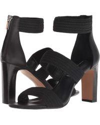 Steven by Steve Madden Jelly Stretch Dress Sandals - Black