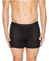 Icebreaker - 175 Everyday Merino Base Layer Boxers (black/monsoon) Men's Underwear - Lyst