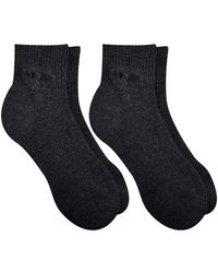 Timberland - 2-pack Half Cushion Quarter Boot Socks - Lyst