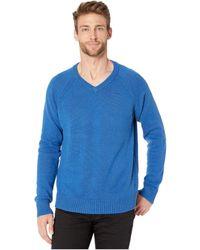 Lucky Brand Vista V-neck Sweater - Blue