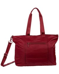 Hedgren Swing Large Tote With Rfid - Red