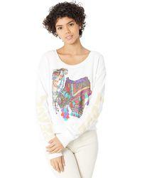 Lauren Moshi Farrah Peace Love Camel - White