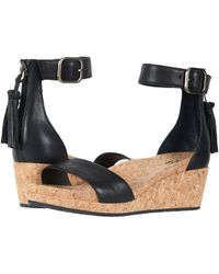 UGG - Zoe (black) Women's Sandals - Lyst