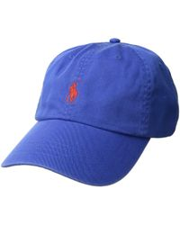 d36f6b161b0 Polo Ralph Lauren - Classic Sport Cotton Chino Hat (baby Blue) Caps - Lyst
