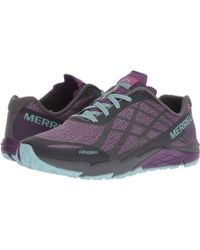 Merrell - Bare Access Flex Shield (black/white) Women's Cross Training Shoes - Lyst