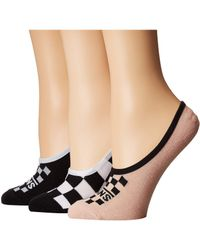 Vans - Funday Canoodles 3-pack (multi) Women's No Show Socks Shoes - Lyst