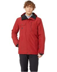 Quiksilver - Mission Solid Jacket (sun-dried Tomato) Men's Coat - Lyst