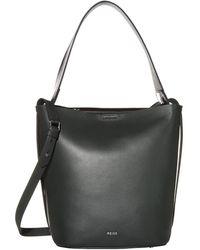 Reiss Hudson Bucket Bag - Green