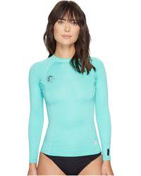 O'neill Sportswear Hybrid Long Sleeve Crew - Green