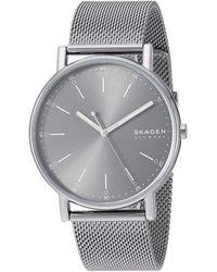 Skagen Signatur Three-hand Watch Watches - Gray