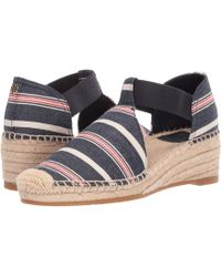 604be32cbd4 Tory Burch - Catalina 3 50mm Espadrille (navy Multi dark Denim) Women s  Shoes