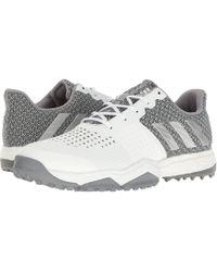 adidas Originals - Adipower S Boost 3 (ftwr White/silver Metallic/light Onix) Men's Golf Shoes - Lyst
