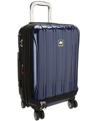 Delsey Helium Aero - 19 International Carry-on Expandable Trolley - Blue