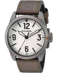 Filson - Field Watch 41mm (white) Watches - Lyst