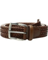 Torino Leather Company 35mm Italian Woven Stretch Leather - Brown