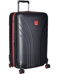 Hedgren - Flight Medium Expandable Spinner 24 (black/red Combo) Luggage - Lyst