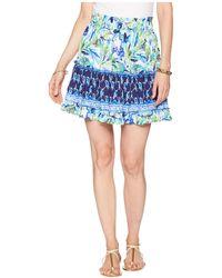 b54d44d7a Lilly Pulitzer - Raya Skirt (multi Petal Faster Engineered) Women's Skirt -  Lyst