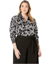 Foxcroft - Plus Libby Whimsy Floral Tunic - Lyst