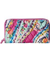 Vera Bradley - Rfid Georgia Wallet (indio) Wallet Handbags - Lyst