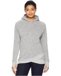 United By Blue Polecat Pullover (steel Grey) Women's Clothing - Gray