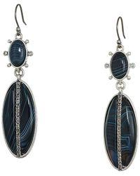 Lucky Brand - Agate Drop Earrings - Lyst