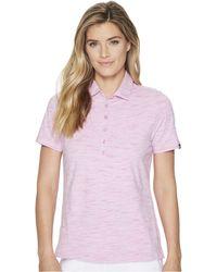 ba35d5956bc4 Skechers - Go Golf Space Dye Polo (light Pink) Women s Clothing - Lyst