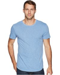 Alternative Apparel - Shadow Wash Postgame Crew (blue Crush) Men's Clothing - Lyst