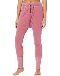 Free People Cozy All Day Harem Leggings - Pink