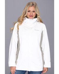 Columbia Plus Size Arcadia Ii Jacket - White