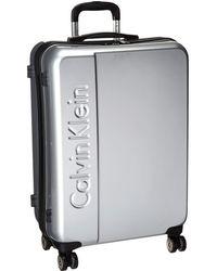 Calvin Klein - Manhattan 2.0 25 Hardside Spinner (champagne) Luggage - Lyst
