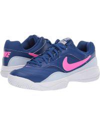 311b0fc9ecd1 Lyst - Nike Free Focus Flyknit 2 Indigo Women s Training Shoe in Blue