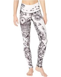 NIYAMA SOL Butterfly Kisses Leggings - Black
