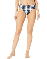 Lucky Brand - Solstice Canyon Wide Shirred Hipster (multi) Women's Swimwear - Lyst